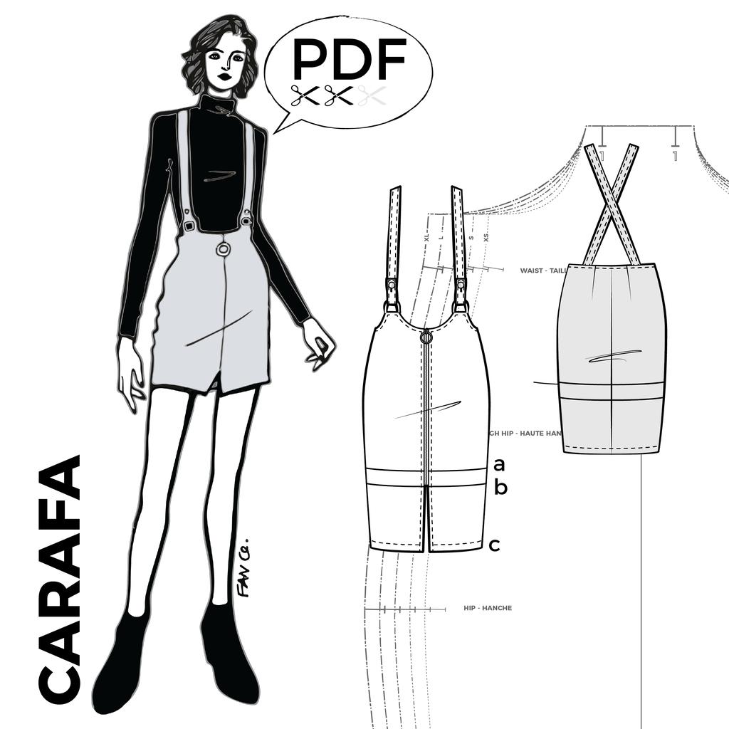 Carafa - Kommatia patterns