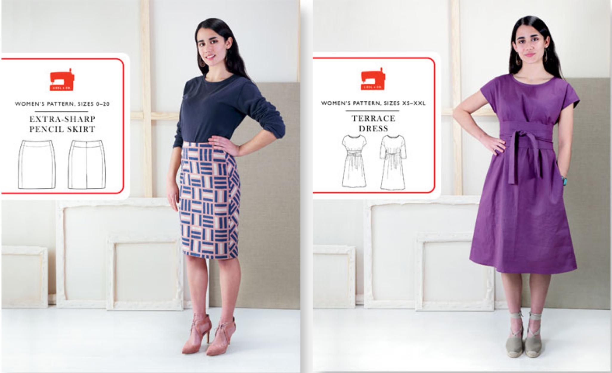 Leisl & Co - pencil skirt and Terrace dress.jpeg