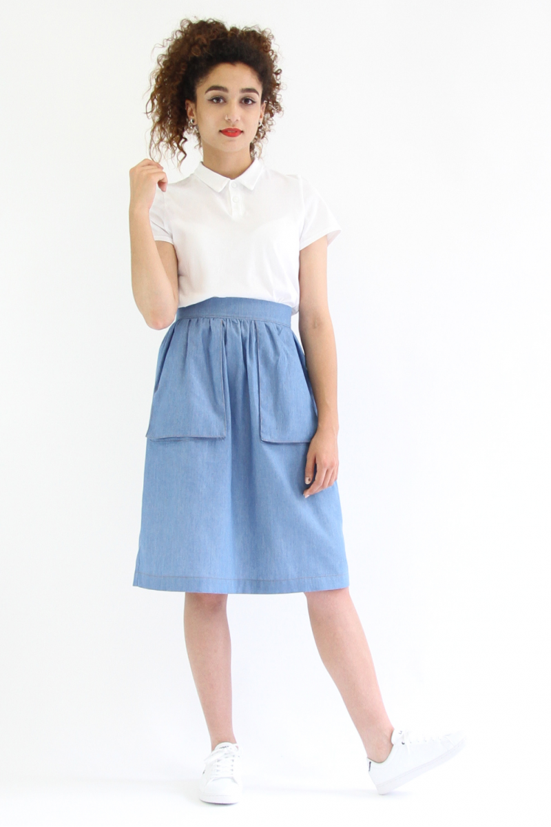 Victoria skirt from I AM Patterns