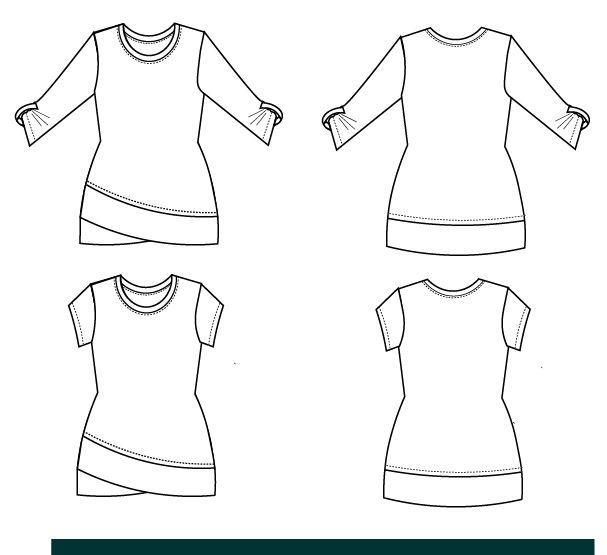 DG Patterns Alexis Knit Top