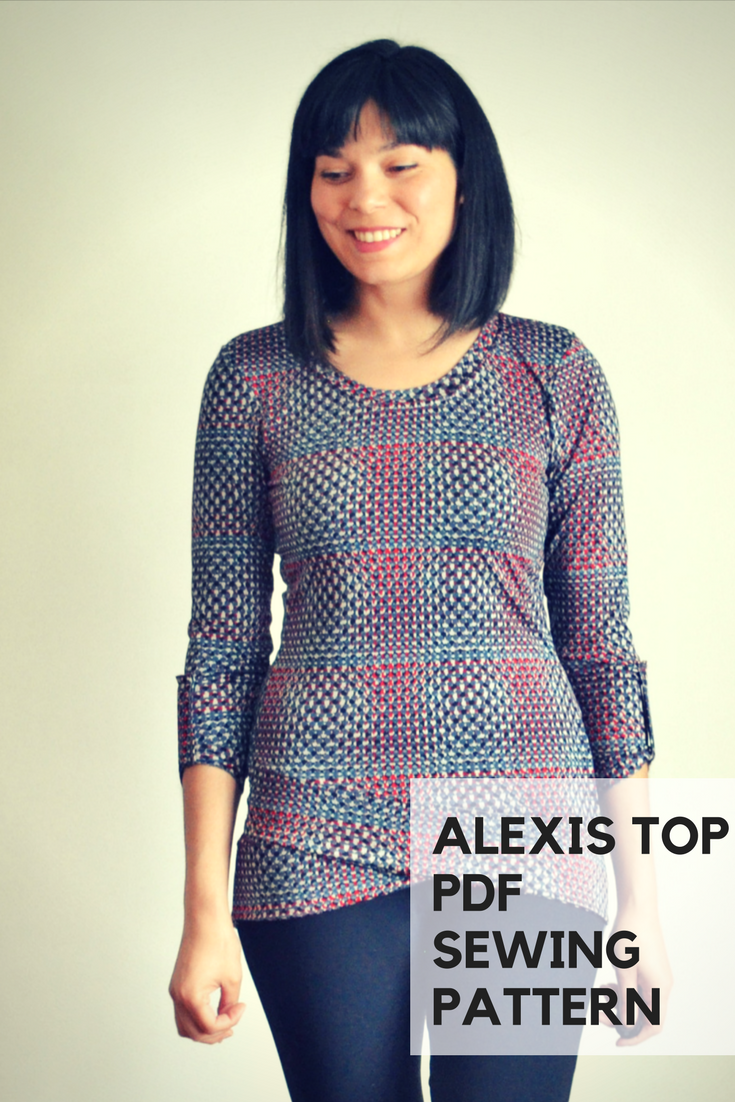 Alexis Knit Top from DG Patterns