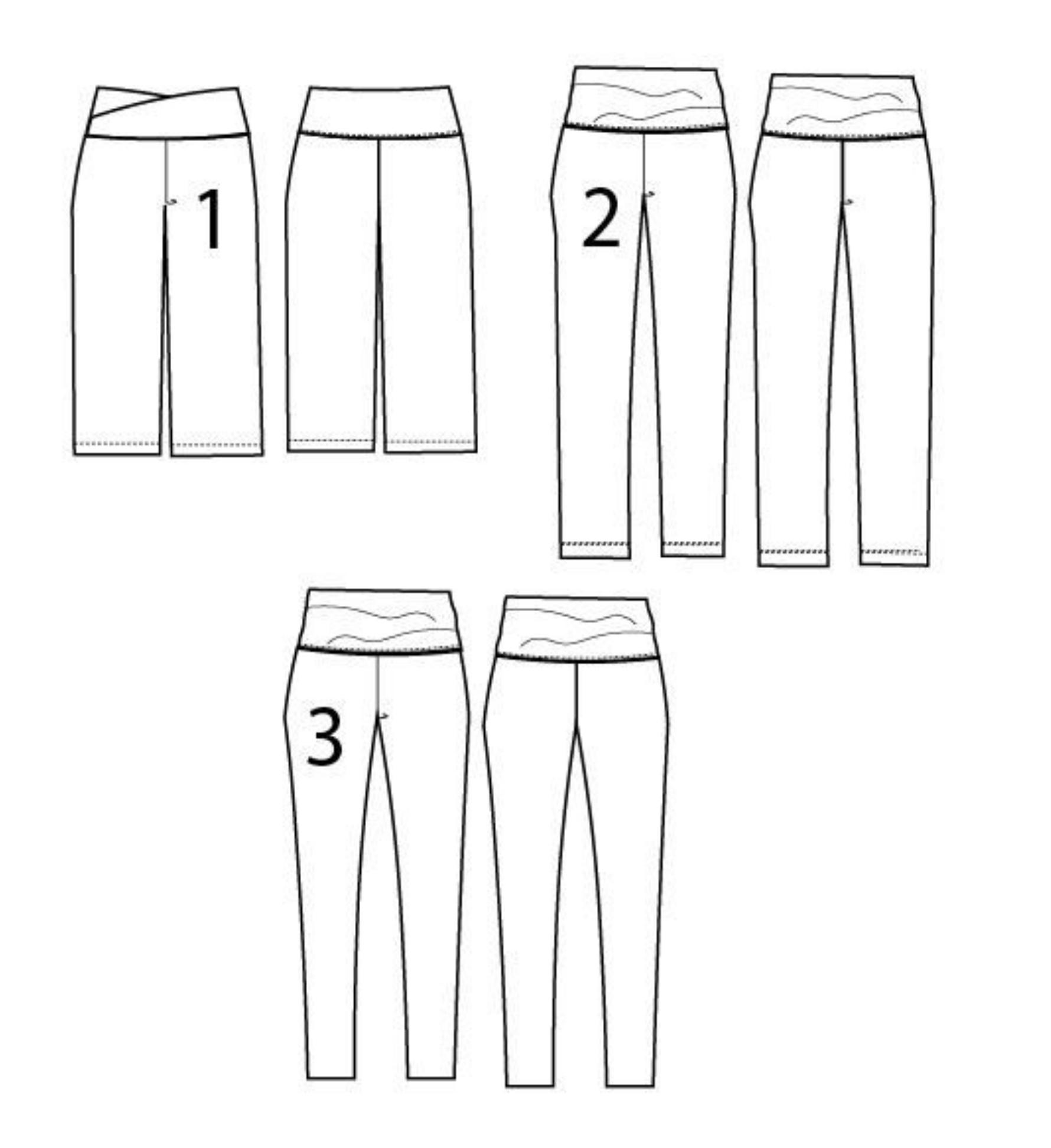 Ariana leggings - dg patterns