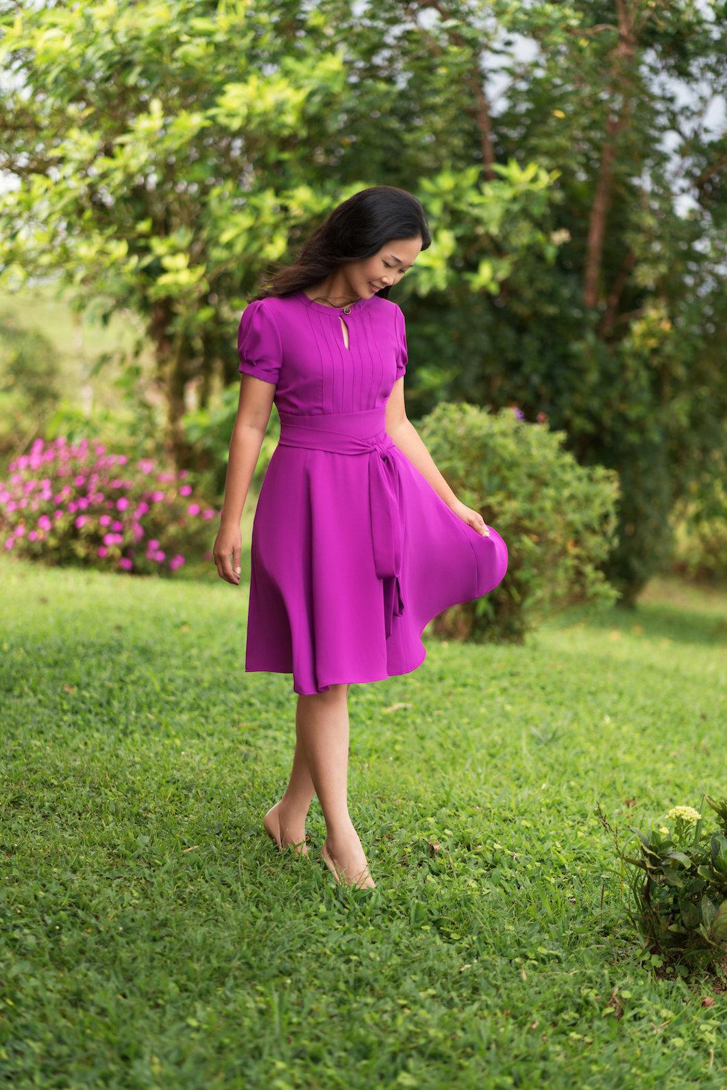 Giverny dress - Itch to Stitch