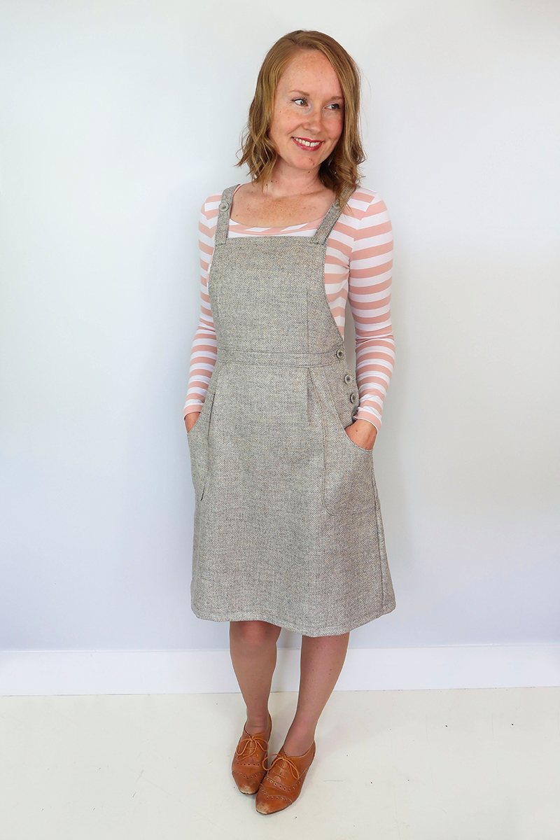 Pippi Pinafore sewing pattern