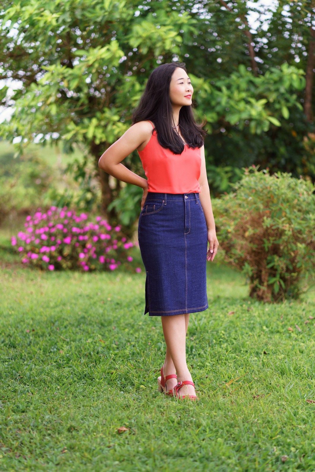 Danube Jean Skirt- Itch to Stitch