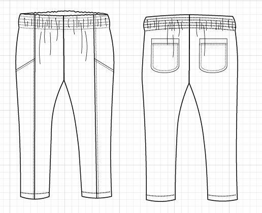 Nathaly Pants - DG patterns