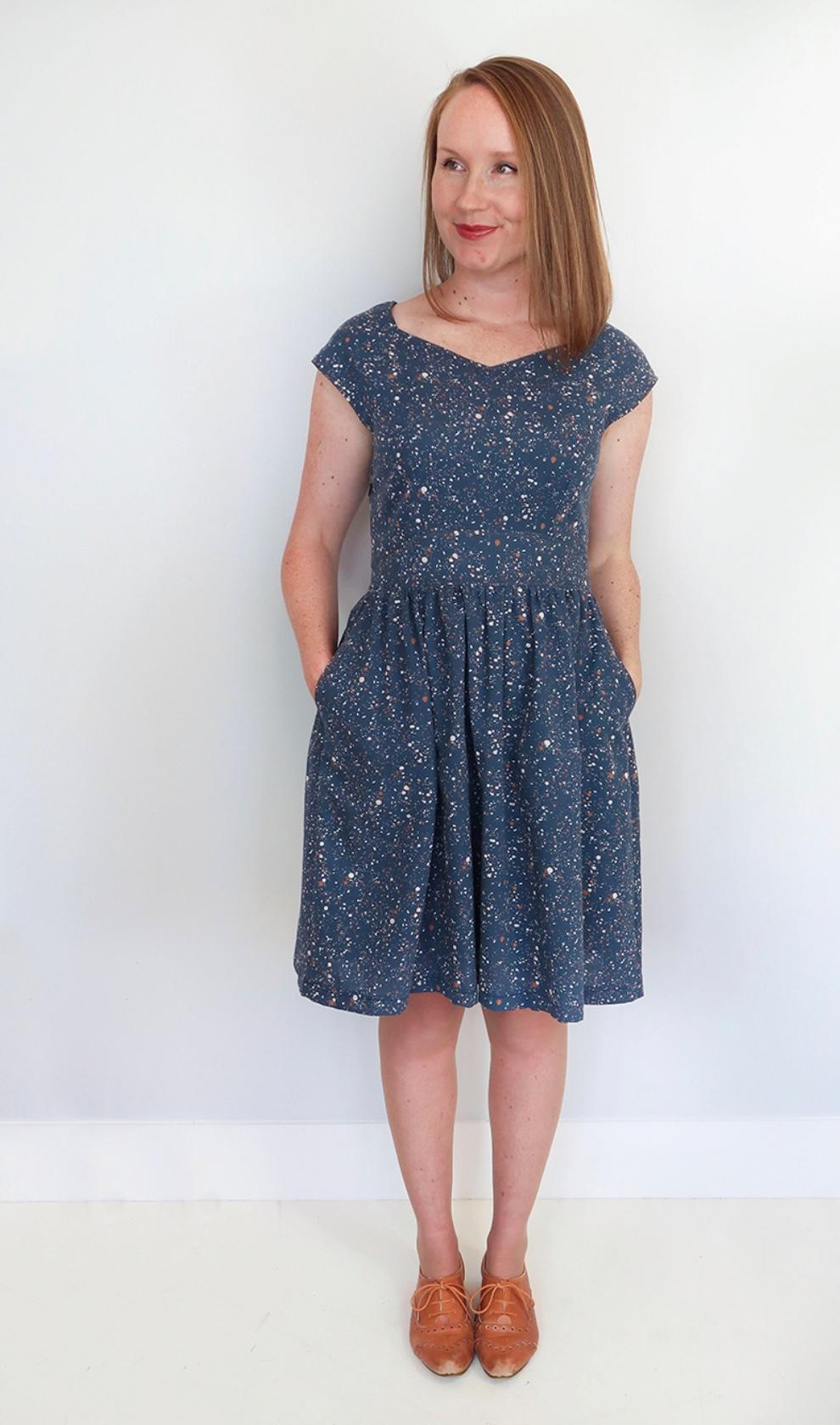 Raine dress from Jennifer Lauren Handmade