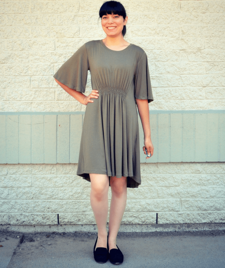 Silva dress from DG Patterns