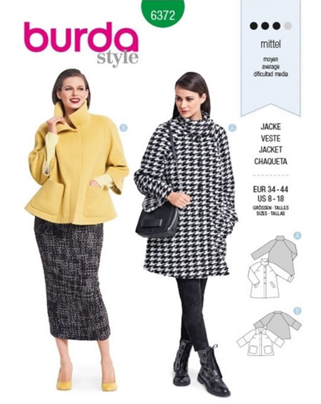 Burda 6372 on The Pattern Pages