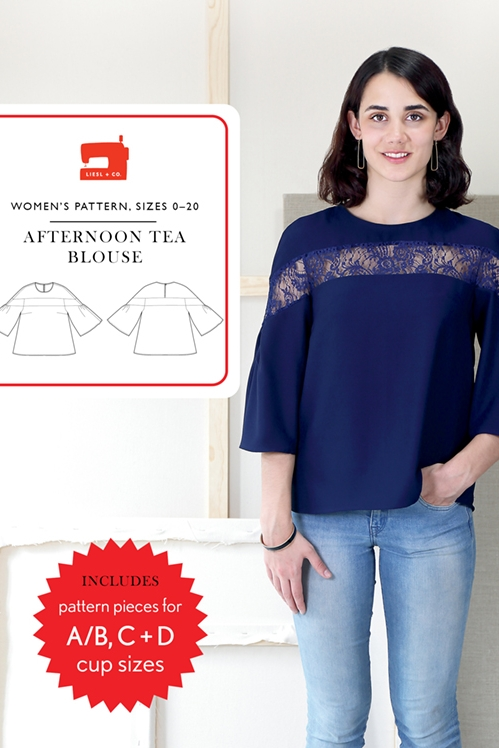 Afternoon Tea Blouse from Liesl + Co