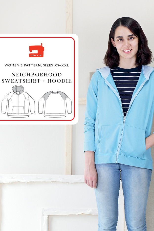 Neighborhood Sweatshirt + Hoodie from Liesl + Co