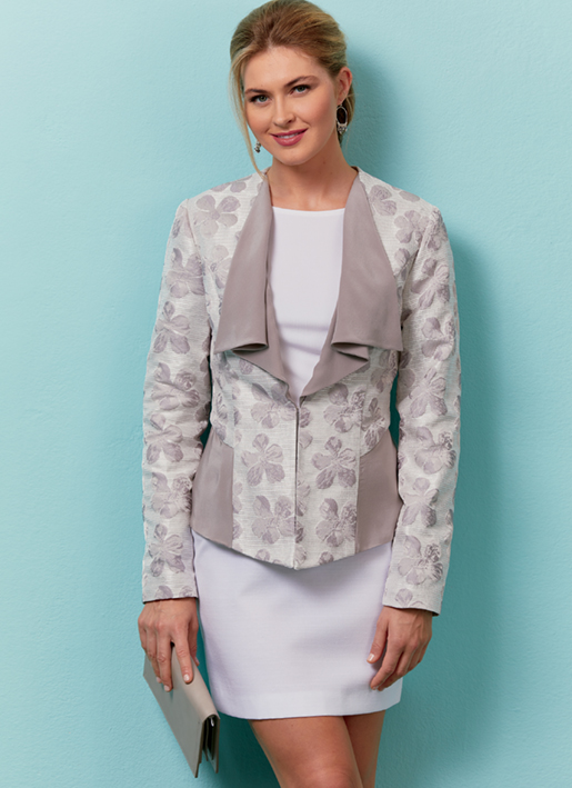 Butterick 6570 jacket pattern