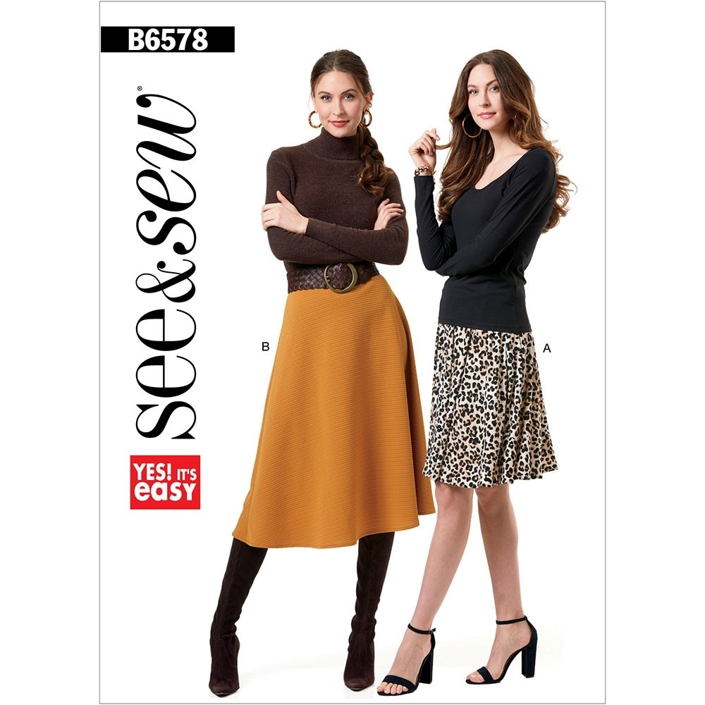 Butterick 6578 skirts