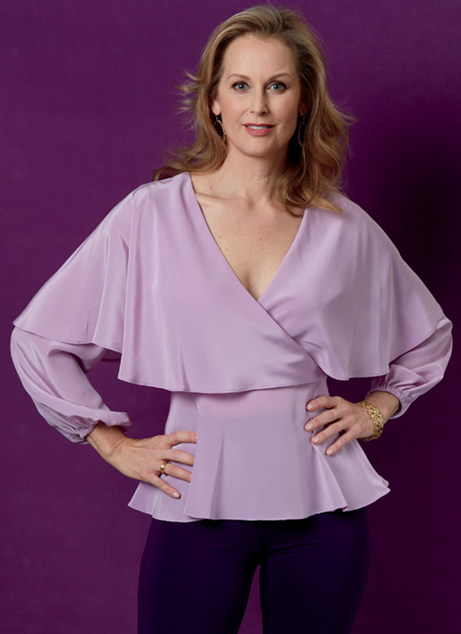 Butterick 6594 wrap tops