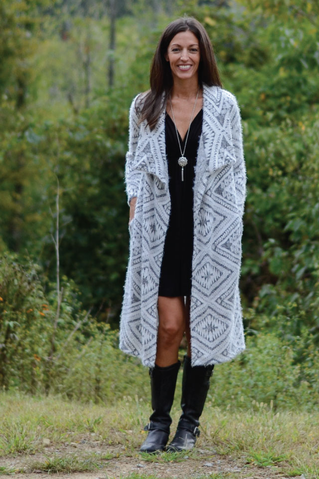 Chelsea Cardigan from Designer Stitch