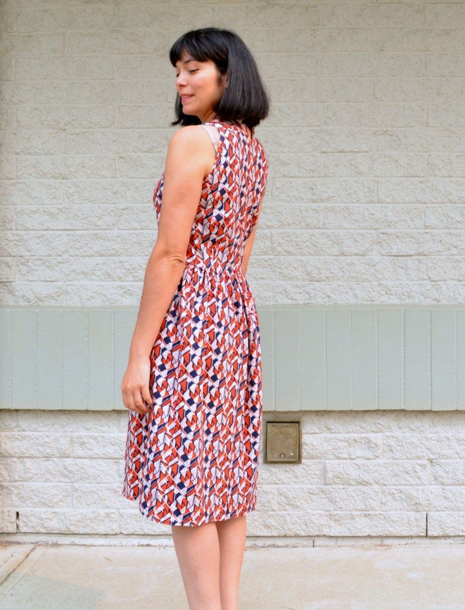Azya dress/top sewing pattern from DG Patterns