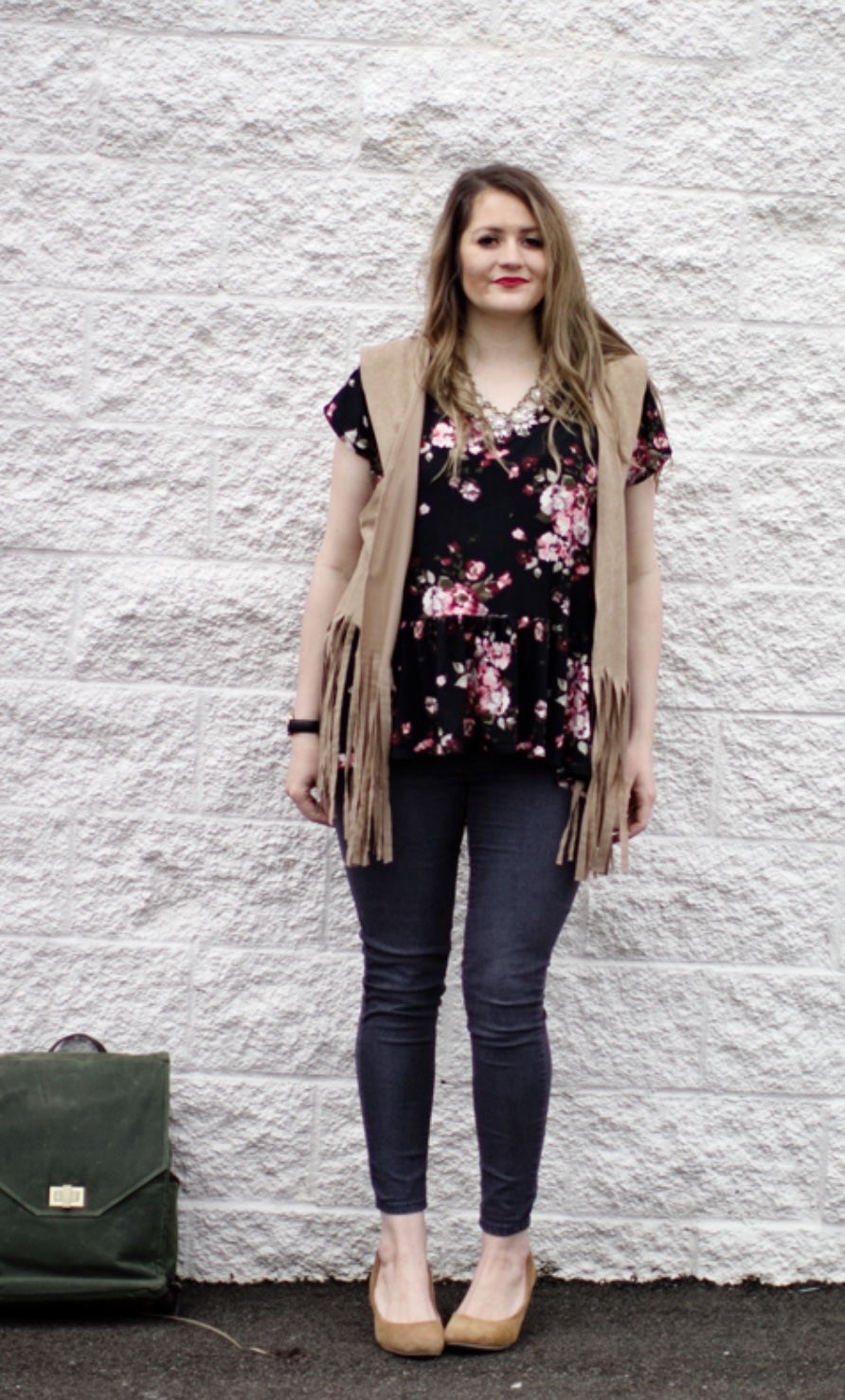 Fringed Vest from See Kate Sew