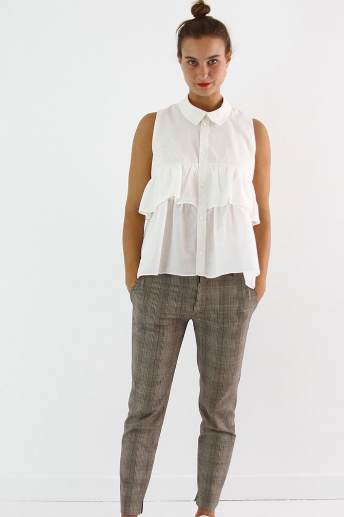 Magdala shirt from I AM Patterns