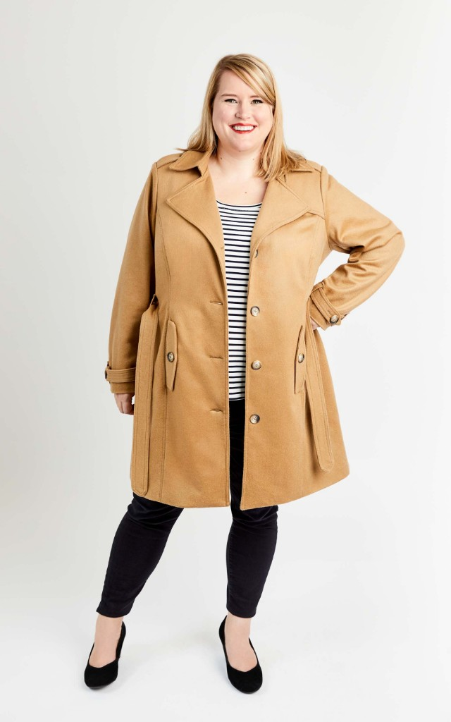 Chilton Trench Coat from Cashmerette