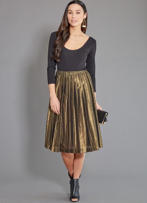 McCall's 7844 pleated skirts