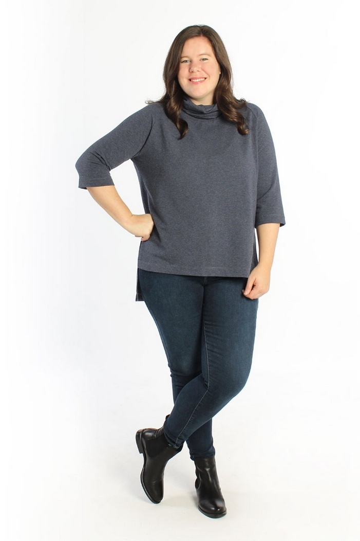 Elliot Sweater & Tee sewing pattern from Helen's Closet