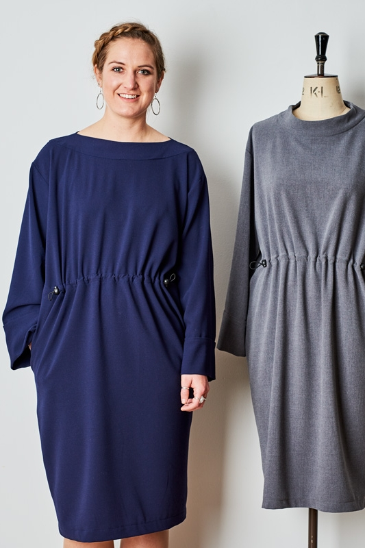 The Relaxed Drawstring Dress from The Maker's Atelier