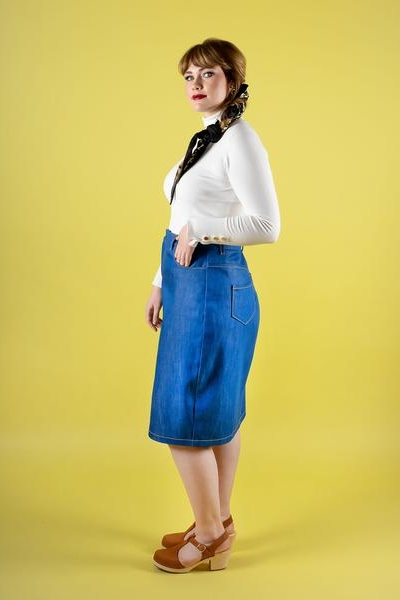 Ness skirt sewing pattern from Tilly and the Buttons