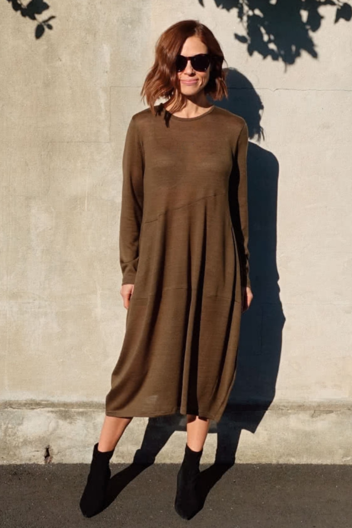 Venice Cocoon Knit Dress from Style Arc