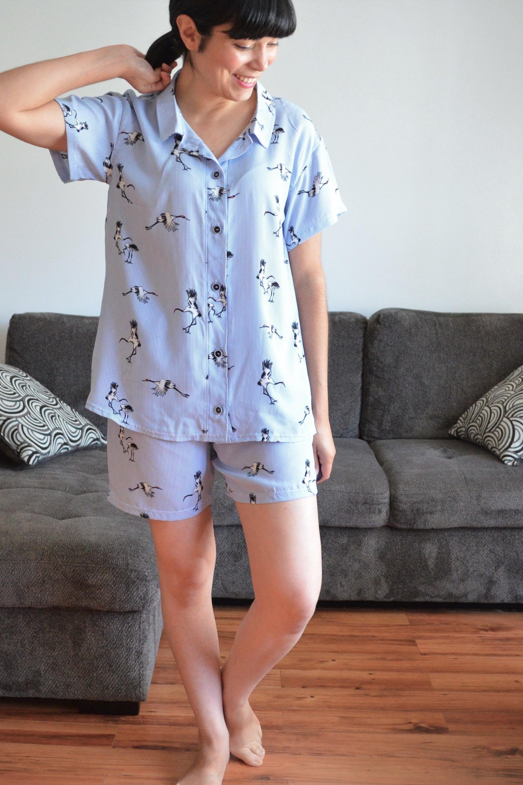 Adley Pajama Set sewing pattern from DG Patterns
