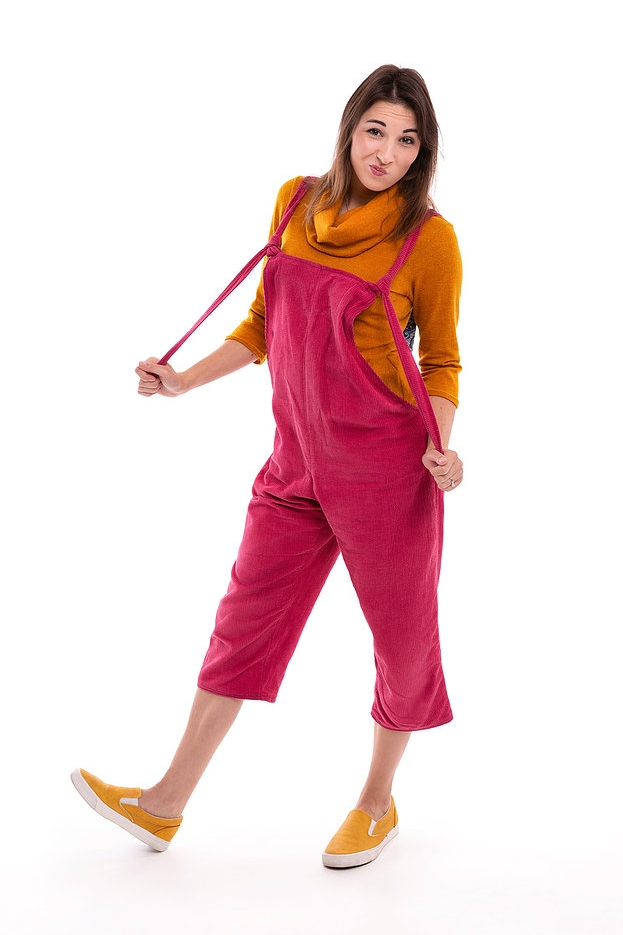 Willow Overalls (chino-leg) from Pipe Dream Patterns