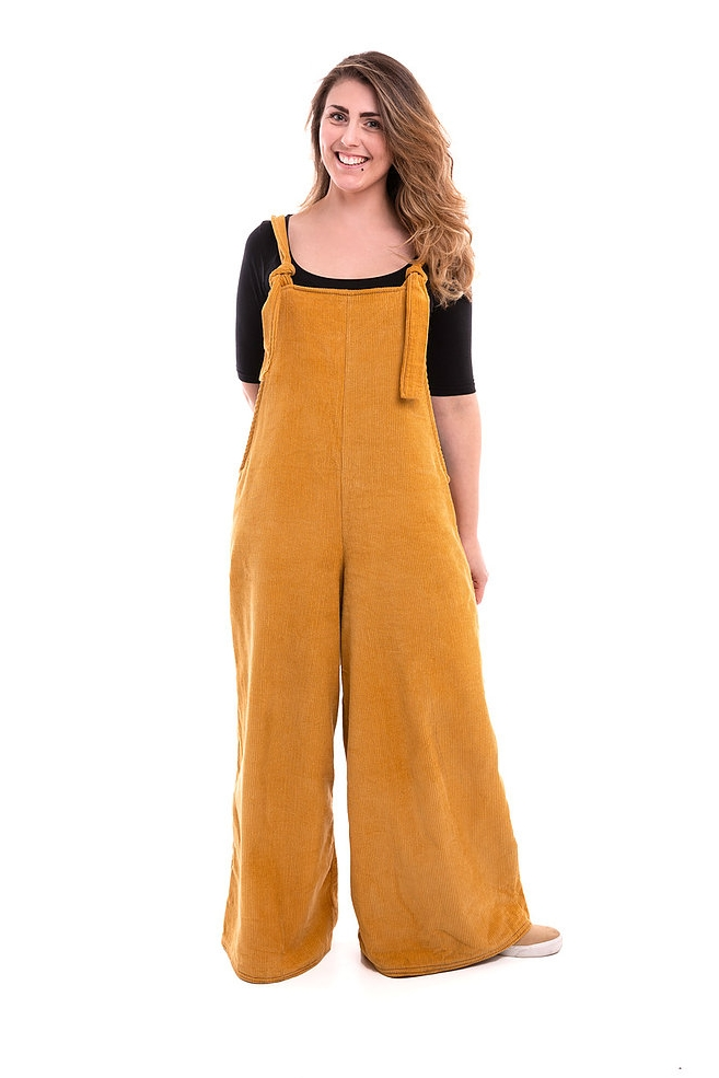 Willow Overalls (wide-leg) from Pipe Dream Patterns