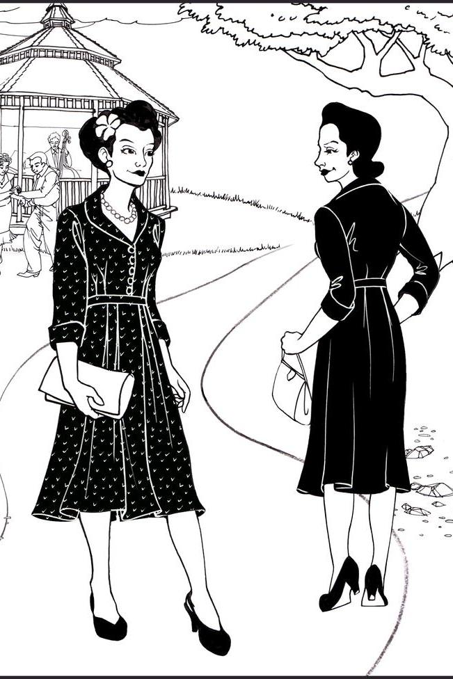 Lindy Shirtdress from Folkwear