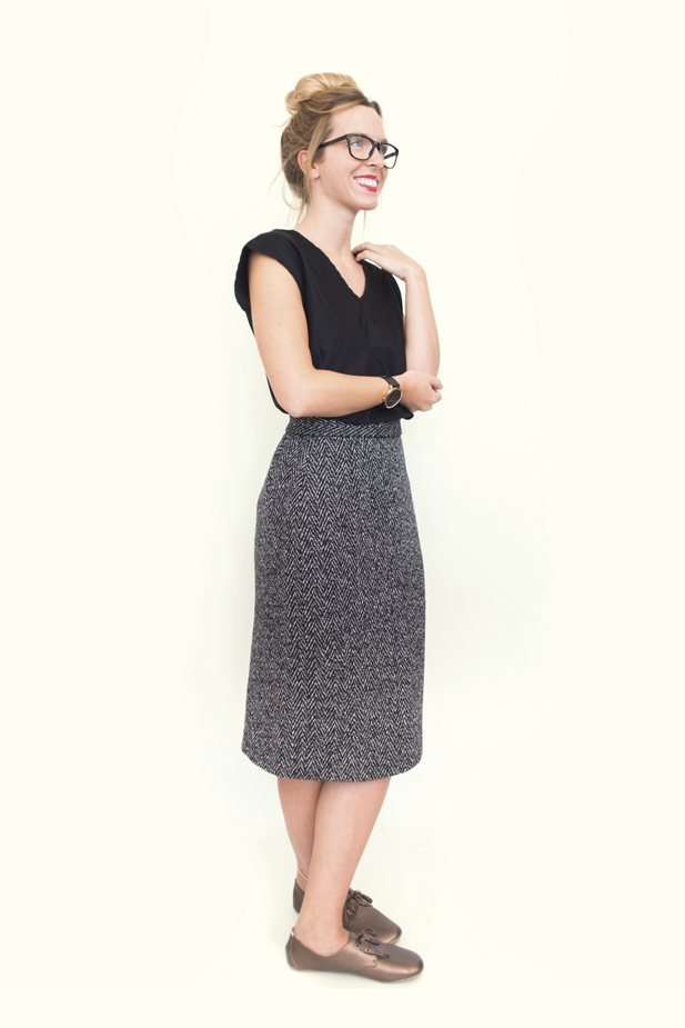Wool Pencil Skirt from Peppermint magazine
