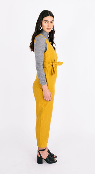 Sierra Jumpsuit by Papercut Patterns - Geo Collection