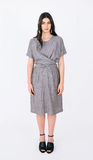 Meridian Dress from Papercut Patterns' Geo Collection