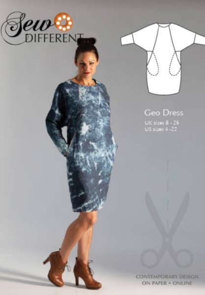 Geo Dress from Sew Different