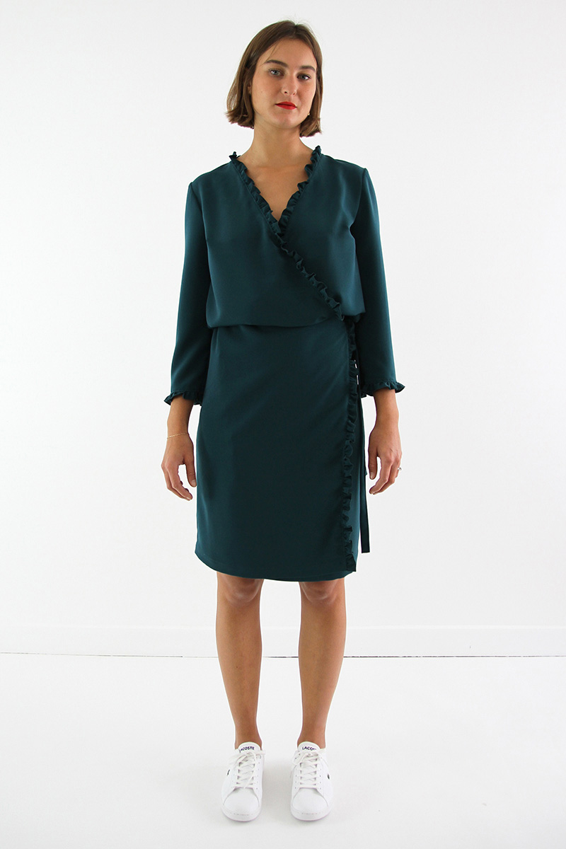 Perle Dress from I AM Patterns