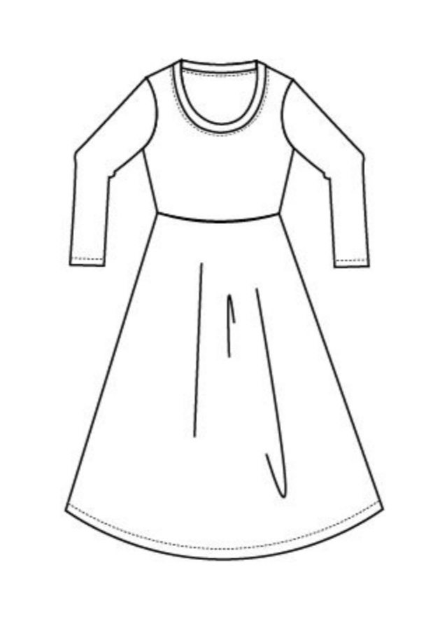 Soledad Knit Dress from DG Patterns