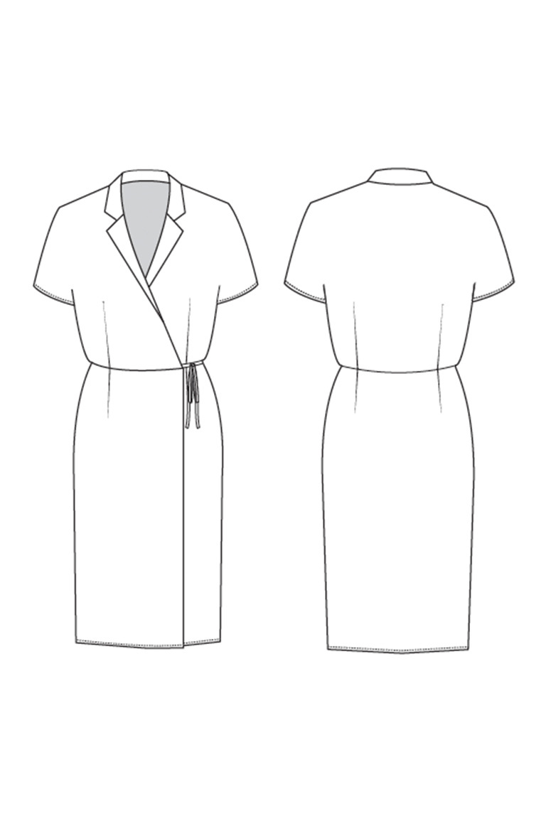 Ruth Dress from Seamwork (Jan 2019)