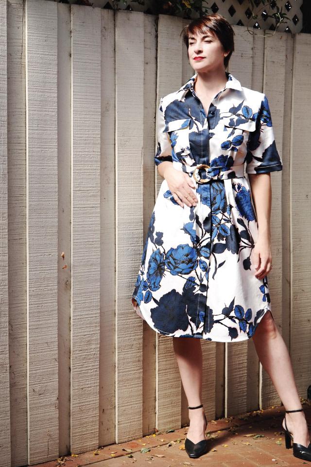 Sedona Shirt Tunic Dress from Designer Stitch