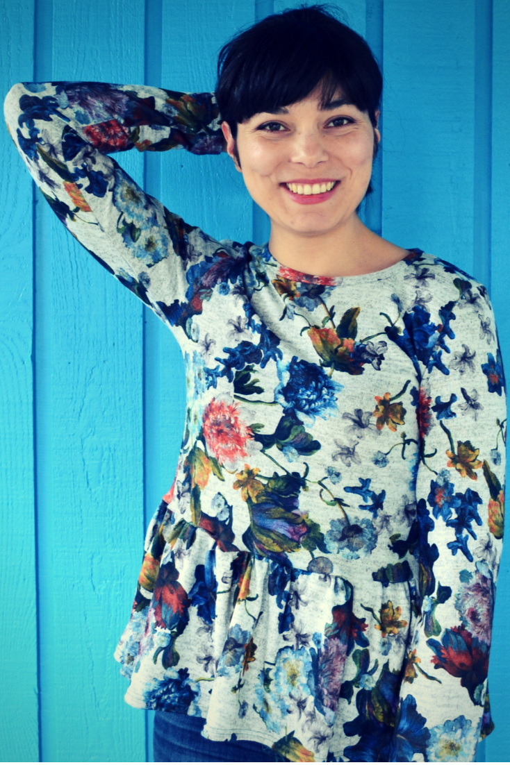 Tanya Knit Top from DG Patterns