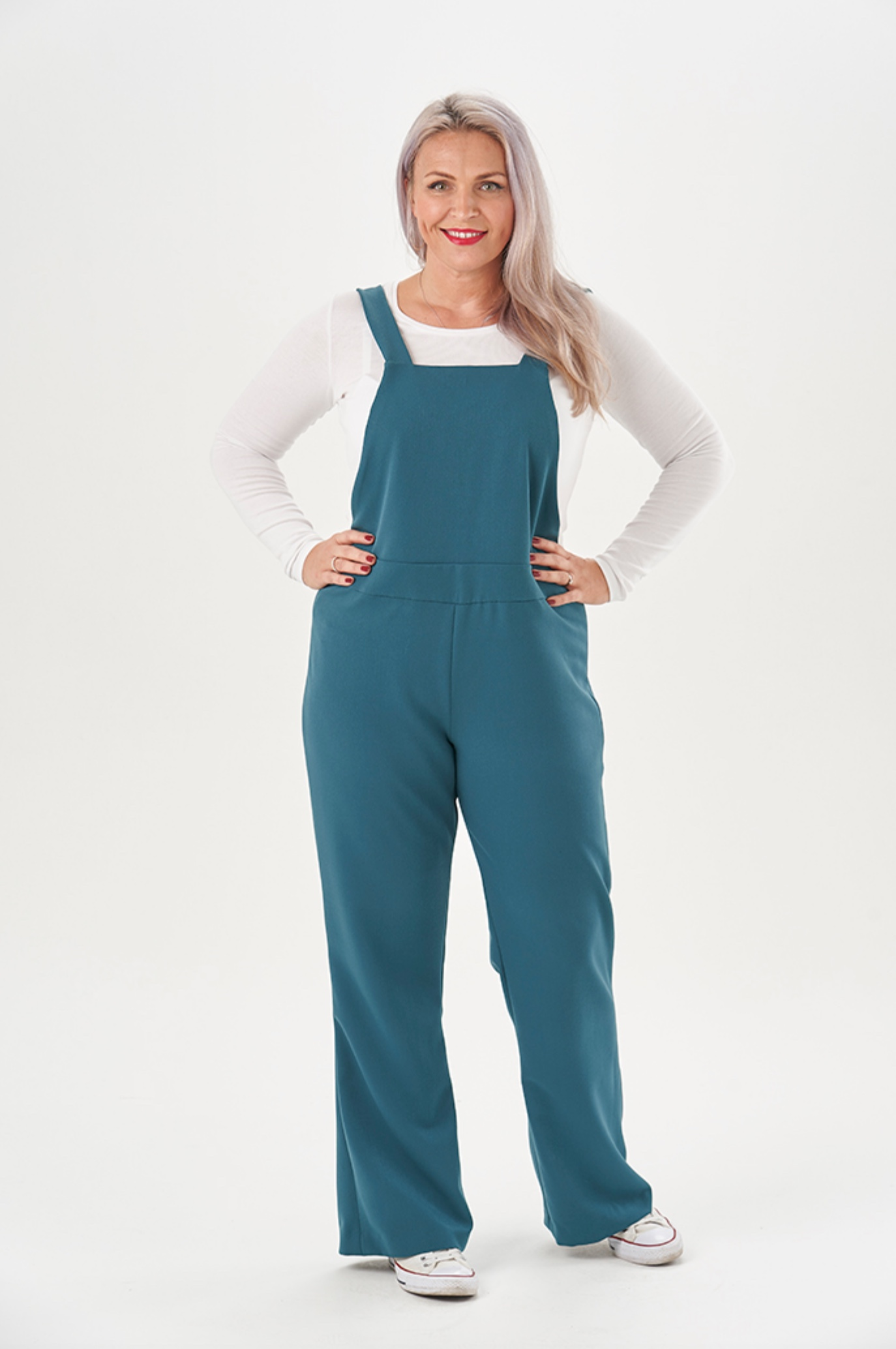 Sara Dungarees (and trouser) sewing pattern from Sew Over It