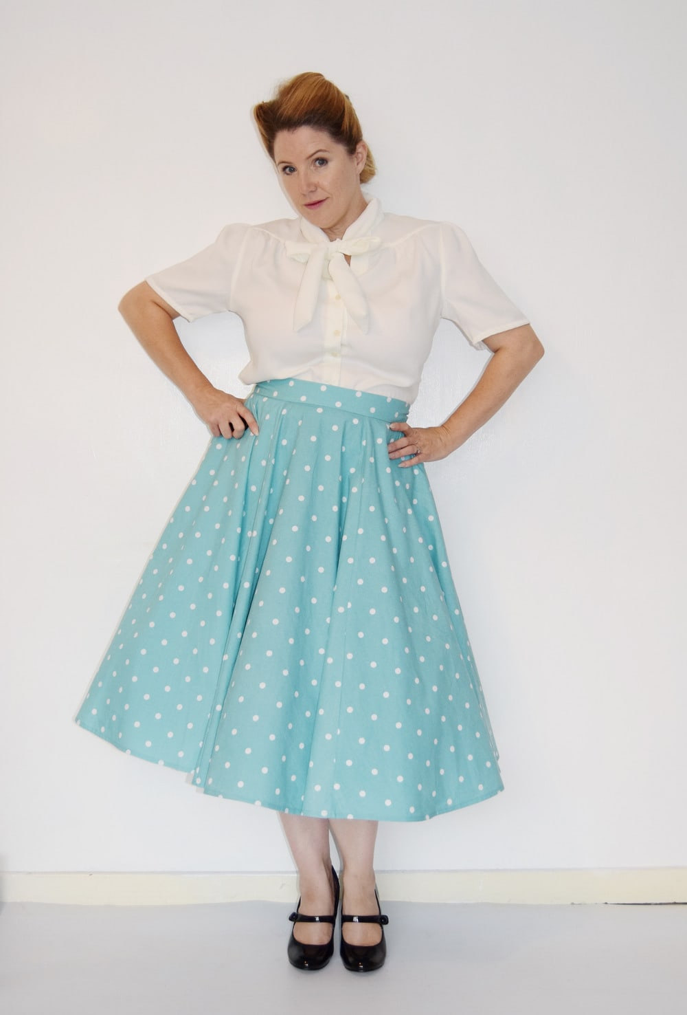 Betsy Vintage Circle Skirt by Rebecca Page