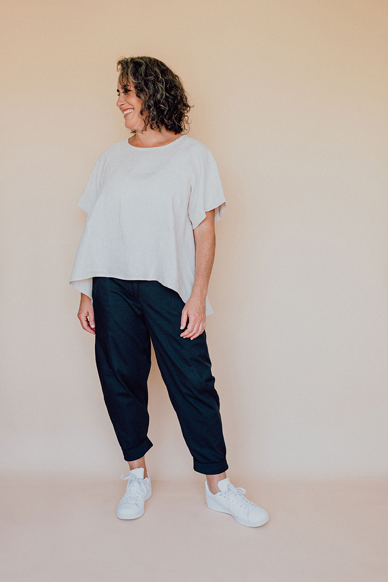 The Darlow Pants from In the Folds