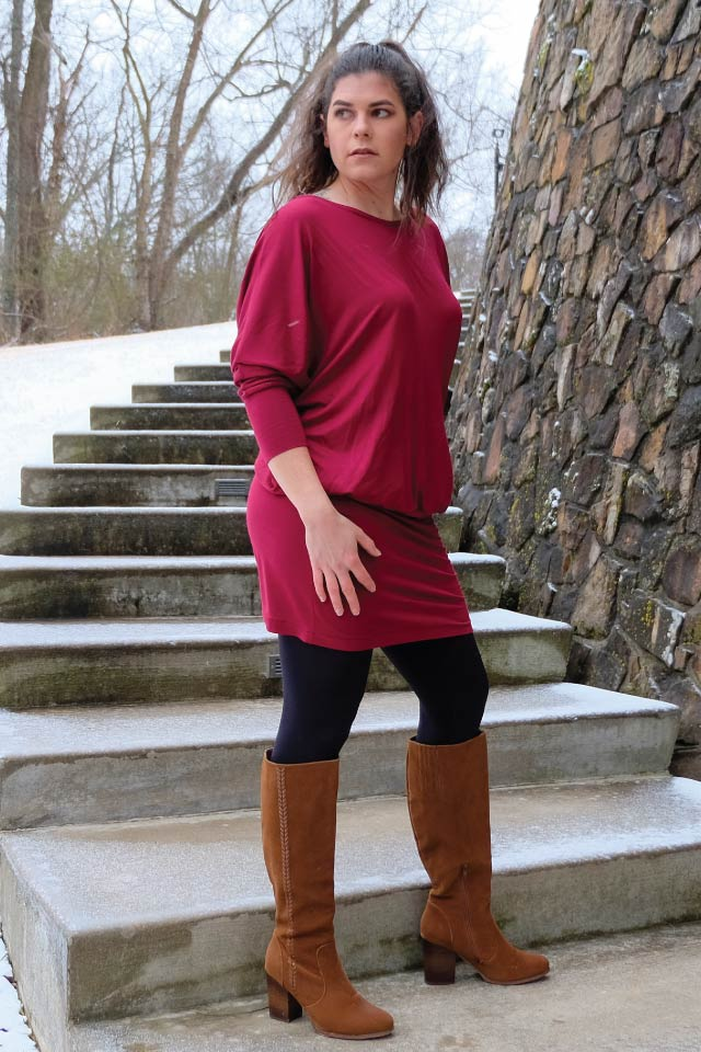 The JoJo Top, Tunic and Dress from Designer Stitch