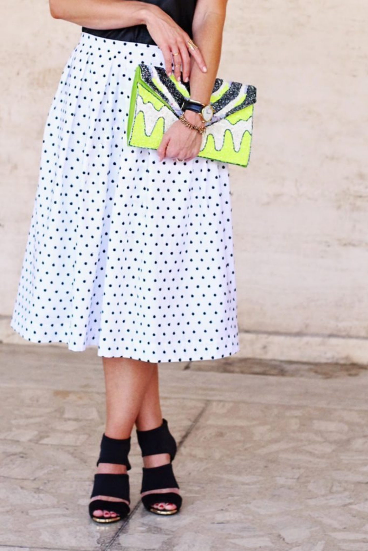 Polka Dot Skirt tutorial from Elle Apparel
