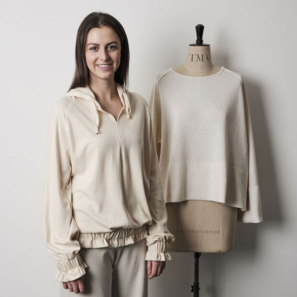 Two contemporary tops from The Makers Atelier