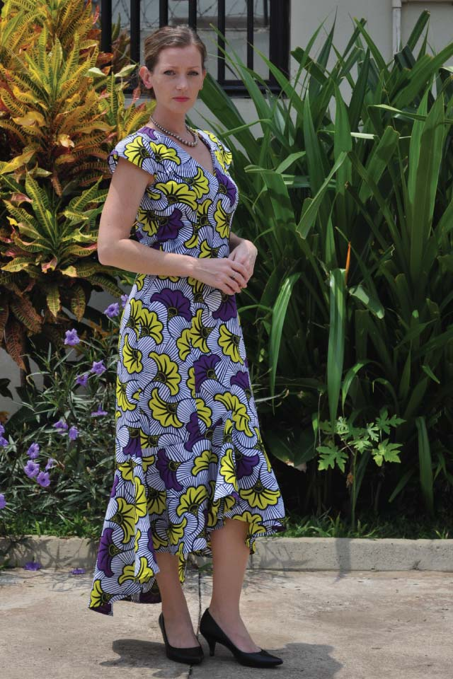 Clara Dress sewing pattern from Designer Stitch