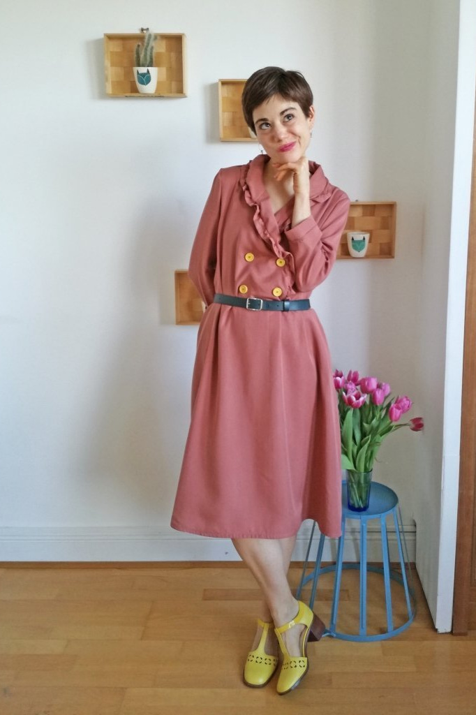 Maple Dress sewing pattern from Cocowawa Crafts