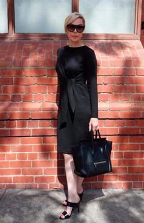 Astoria Knit dress sewing pattern from Style Arc